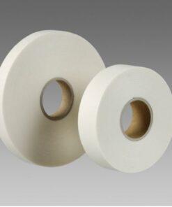 Obojstranne lepiaca a upevňovacia páska v návinoch rolí 25mmx1 biela - 5m