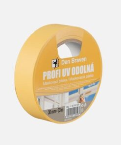 Profi UV odolná maskovacia páska žltá 50 mm x 33