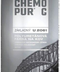 U 2061 CHEMOPUR G - polyuretánová základná farba 8 l 0840 - červenohnedá
