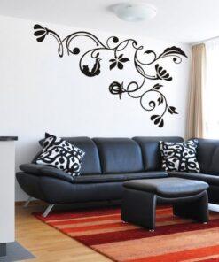 Šablona na stenu - Ornament listy 2 94x140cm 3022x