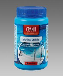 Cranit Quatro tablety - dezinfekcia