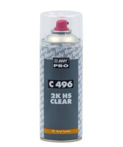BODY 496 - bezfarebný lak v spreji bezfarebný 400 ml