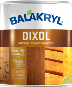 Dixol - vodouriediteľná lazúra na drevo 2