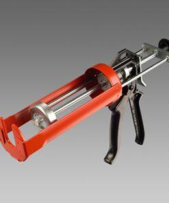 Aplikačná pištoľ na kotvy cervena