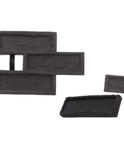 STAMP® Tehla Rustical SET1 -  3 profesionálne raznice na výrobu obkladu 3 ks tr0