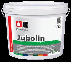 JUBOLIN - vnútorný disperzný tmel na steny a stropy 25 kg