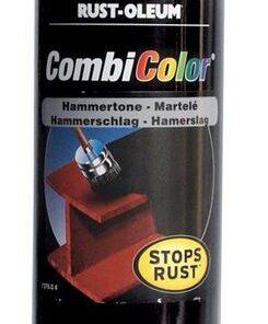 Alkyton / Combicolor- kováčska farba v spreji 400 ml čierna - grafitová