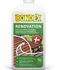 Bondex renovation - čistič na drevo 1 l