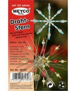 MEYCO - Vianočné drôtené hviezdy /5ks 15 cm