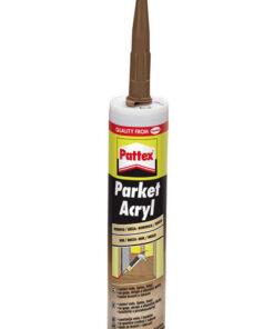 Tmel Pattex Parket Acryl - parketový tmel 310 ml tmavý dub