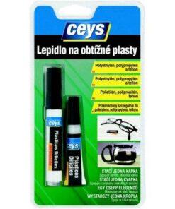 Ceys Lepidlo na obtiažné plasty 3g