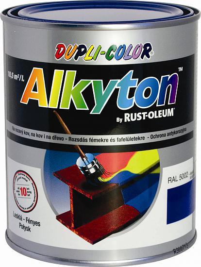 ALKYTON - antikorózna farba na hrdzu 2v1 750 ml ral 3005s - vínová červená satén