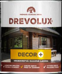 Drevolux Decor + tixotropná hrubovrstvá lazúra 2