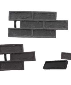 STAMP® Tehla Rustical SET2 -  4 profesionálne raznice na výrobu obkladu 4 ks tr0