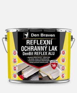 DENBIT REFLEX ALU Reflexný ochranný lak strieborná 9 kg