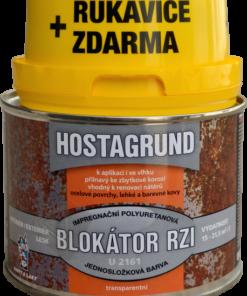 BLOKÁTOR HRDZE HOSTAGRUND U2161 + RUKAVICE 0