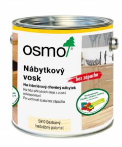 OSMO Nábytkový vosk 10 l 5910- bezfarebný