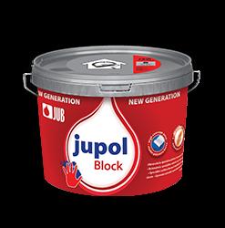 JUPOL BLOCK NEW GENERATION - špeciálna farba na blokovanie fľakov 15 l = 22