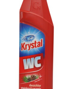 KRYSTAL WC zásaditý na nerez a keramiku s Dezichlórom červený  5 l