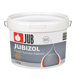 JUBIZOL finish summer additive - letná prísada pre predĺženie doby tvrdnutia omietok 1
