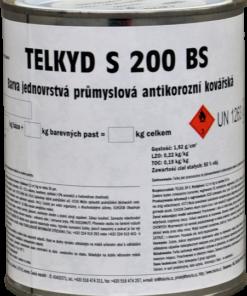 TELKYD S200BS - 2v1 matná syntetická kováčska farba 2