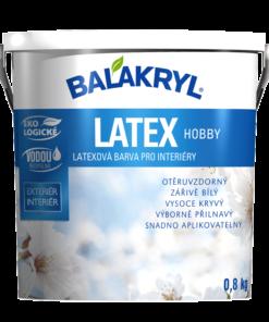 Balakryl Latex Hobby - latexová farba biela 0