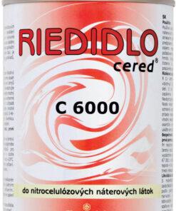 C 6000 Nitrocelulózové riedidlo - acetónové 3