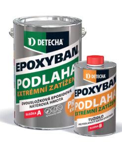Epoxyban - epoxidová dvojzložková farba na betón 20 kg ral 5012 - modrá svetlá