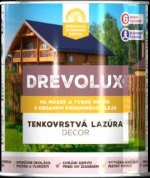 Drevolux Decor - rozpúšťadlová lazúra s obsahom prírodného oleja 2