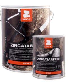 ZINGA Zingatarfree - chemicky odolná jednozložková polyuretánová farba cierna 20 l