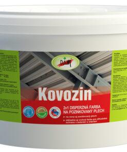 Kovozin - farba na nový pozinkovaný plech zelená 23 kg