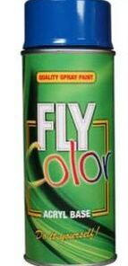 FLY COLOR - bezfarebný lak 400 ml lak lesklý
