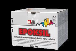 EPOKSIL - epoxidová farba na betónové podlahy vo výrobných halách 6 kg 10 - pieskovo sivý