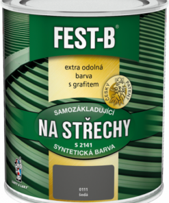 FEST-B - S2141 farba na strechu a konštrukcie 5 kg 0540 - zelená