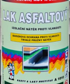 LAK ASFALTOVY A1010 - asfaltový lak 1999 - čierna 9 kg