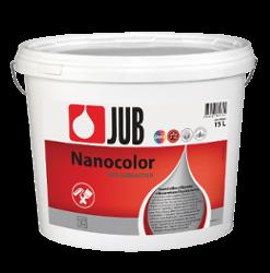 NANOCOLOR - samočistiaca silikónová fasádna farba biely 15 l