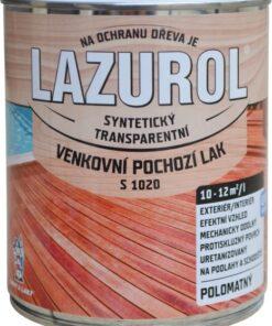 LAZUROL Lak S 1020 - Vonkajší podlahový lak na drevo 2