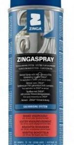 ZINGA Zingaspray - antikorózny náter so zinkom v spreji  500 ml kovovo šedá