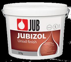 JUBIZOL Unixil finish S - siloxanová dekoratívna hladená omietka 25 kg zr. 2mm - miešanie