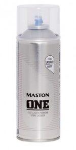 Maston One - akrylový lak v spreji  400 ml saténový