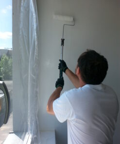 Pripravíme Vám stenu pre náter Whiteboardovou farbou  biela m2