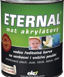ETERNAL mat akrylátový biela 01
