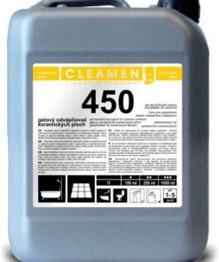 Gelový odvápňovač plôch - CLEAMEN 450 5 l