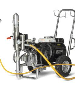 HeavyCoat 950 benzínový pohon  - Hydraulické piestové zariadenie - Vozík striekacie zariadenie vozík