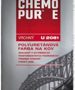 U 2081 CHEMOPUR E- vrchná polyuretánová farba na kov