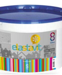 FASENA ELASTIC - Silikónová elastická samoumývateľná fasádna farba biely 5 l