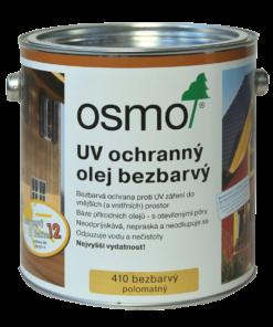 OSMO UV Ochranný olej 410 - prírodný olej 125 ml 410 - bezfarebný