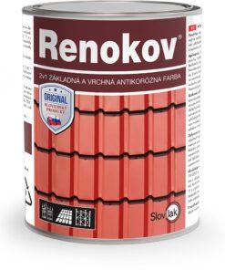 Renokov - antikorózna farba 2v1 - farba na strechy 10 kg antracit