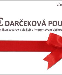 10€ Darčeková poukážka na nákup tovaru a služieb