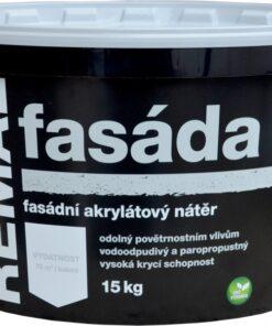 REMAL FASADA - fasádna farba biela 4 kg